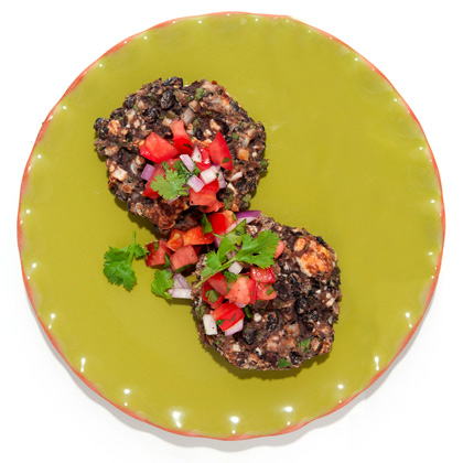 black-bean-cakes-queso