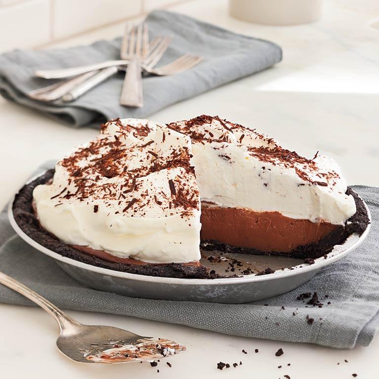 Receipe black bottom pie