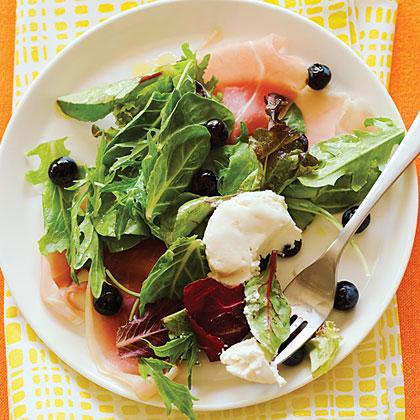 Blueberry and Prosciutto SaladRecipe