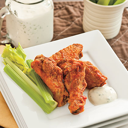 <p>Angela's Spicy Buffalo Wings</p>