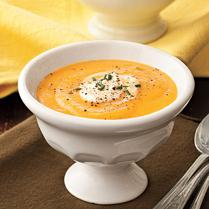 Lyda's Cream of Carrot Soup Recipe | MyRecipes