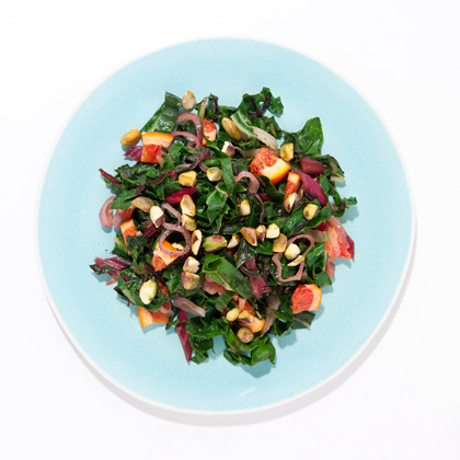 chard-oranges-pistachios Recipe