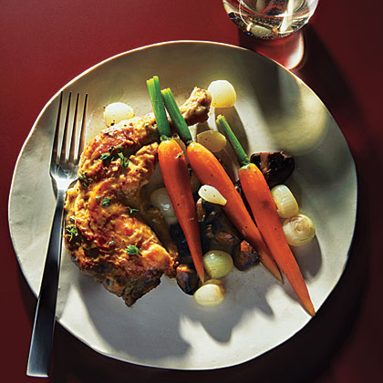 Use your pressure cooker to prepare this elegant entrée of chicken with a rich sauce and vegetables.Chicken Fricassee Recipe