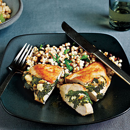 Chicken Stuffed with Spinach, Feta, & Pine Nuts Menu ...