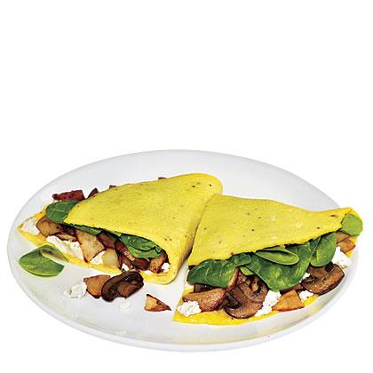 Quick Garden Omelet Recipe