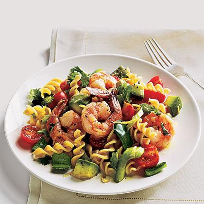 Lemon-Splashed Shrimp Salad