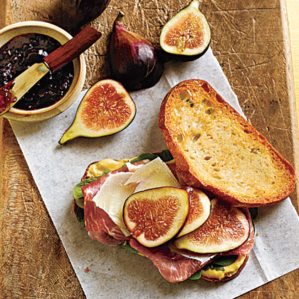Prosciutto, Fresh Fig, and Manchego Sandwiches Recipe | MyRecipes.com