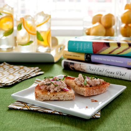 sicilian-tuna-bruschetta Recipe