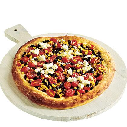 Quick Tex-Mex Confetti Pizza