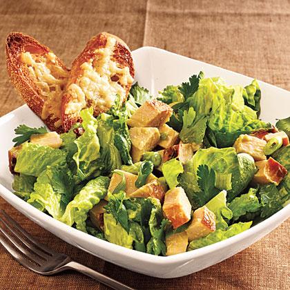 Turkey and Romaine Salad