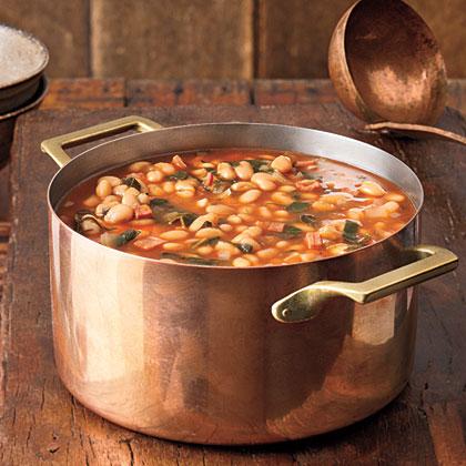 White Bean-and-Collard Soup