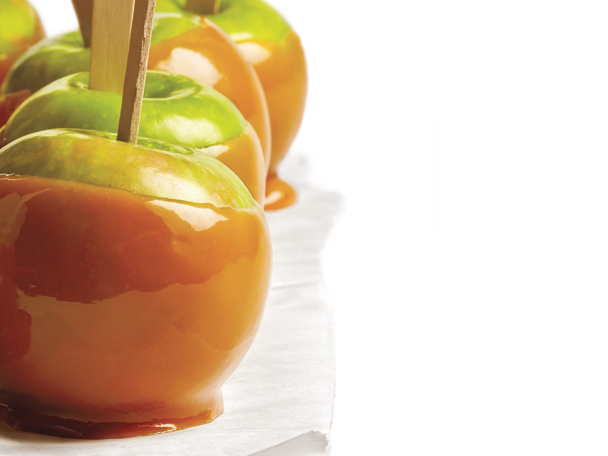 <p>Caramel Apples</p>