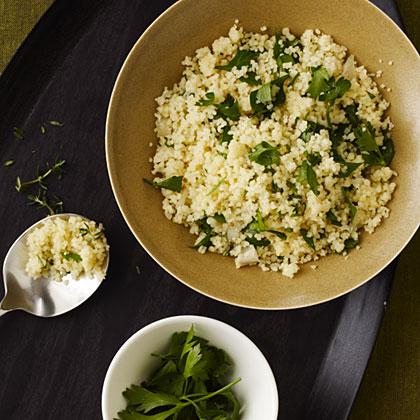 Herbed Couscous Pilaf Recipe | MyRecipes