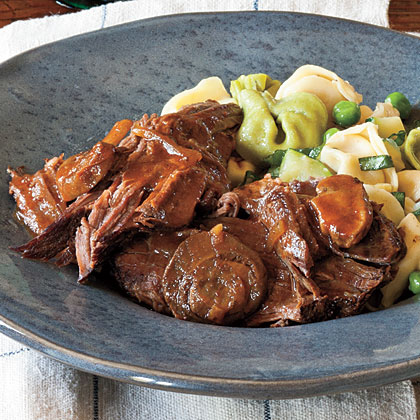 """This is a very good dish. Extremely easy to make and adds a twist to the normal Sunday roast. Will definitely make it again.""—chef1gregItalian Pot Roast Recipe"