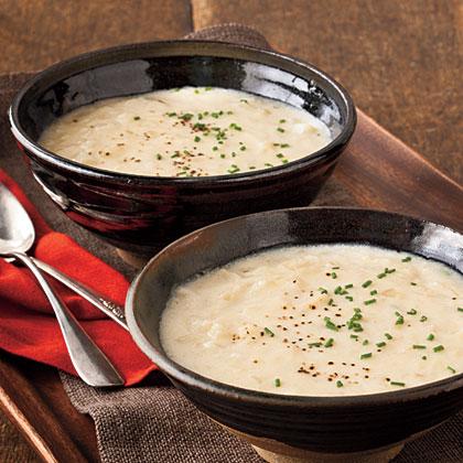 Cream of Potato-and-Onion Soup
