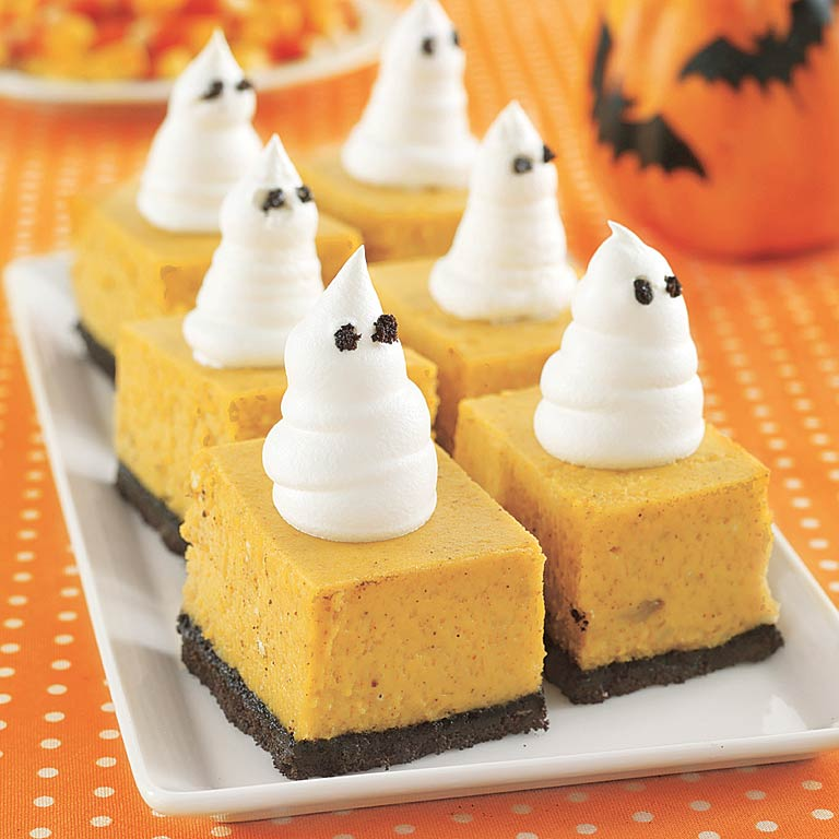 Pumpkin Cheesecake BarsRecipe