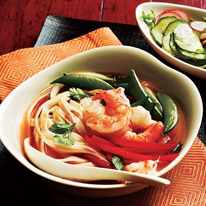 <p>Spicy Shrimp Noodle Bowl</p>