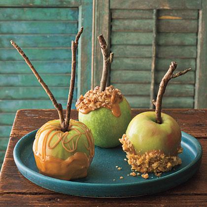 Southern-Style Caramel ApplesRecipe