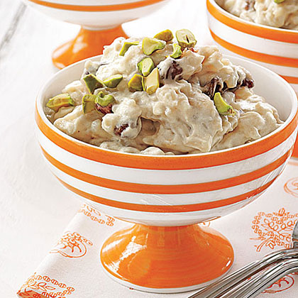 Vanilla-Chai Rice Pudding