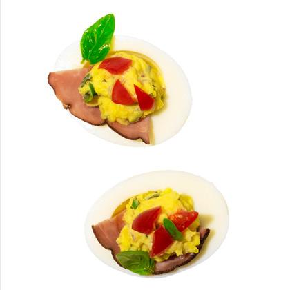 <p>BLT Eggs</p>