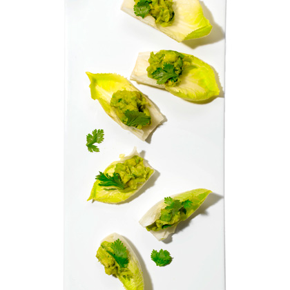 <p>Creamy Avocado Cups</p>