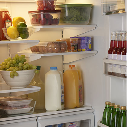 While bacteria lurk everywhere in the environment without causing illness, there's no reason make your fridge a bug-friendly incubator. It takes only three or four hours at temperatures above 40 degrees for bacteria to multiply to levels that can promote illness. Low-acid foods such as meat, eggs, and cooked veggies are the most susceptible. But no matter what food is in your icebox, the best way to keep them safe and avoid a nasty case of food poisoning is simple. Keep it cold and keep it clean.