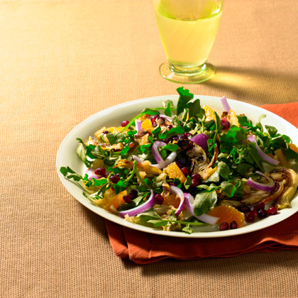 <p>Watercress, Clementine, and Roasted Fennel Salad</p>