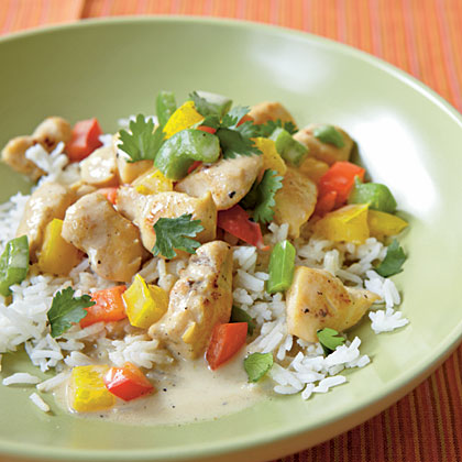 Green Curry ChickenRecipe