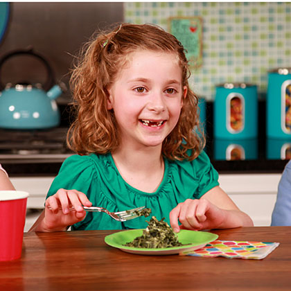 Mom and Dad like spinach because it has multiple health properties, but kids are more interested in a tasty dish. The average rating for these recipes was a seven points out of a possible nine–so we're confident kids will love these recipes as much as our expert judges!