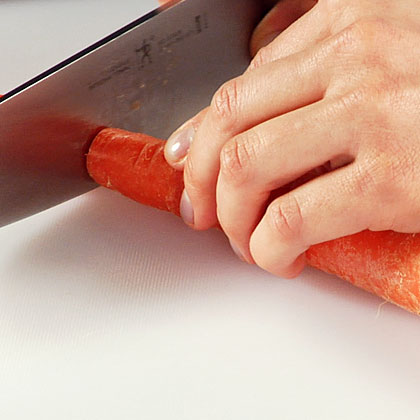 Slicing and Dicing Carrot
