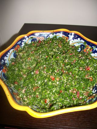 The Joys of Parsley: Tabouleh