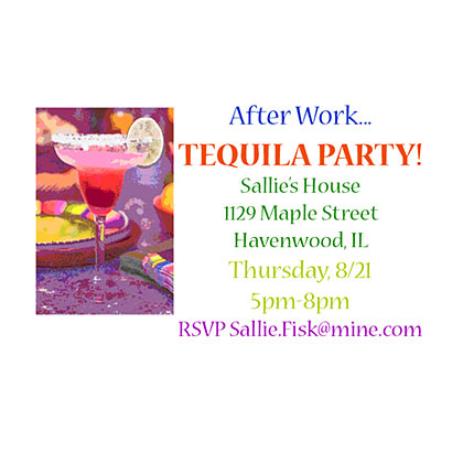 Tequila Bar Party Invite