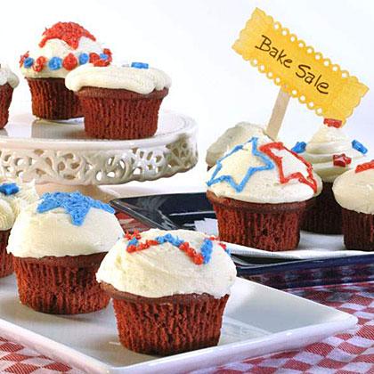 Great American Red Velvet Cupcakes