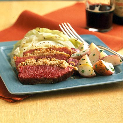 Recipes corned beef and cabbage