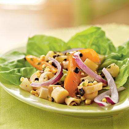 Chayote and Hearts of Palm Cebiche Salad Recipe