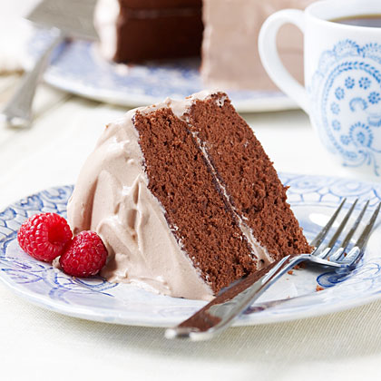 Raspberry Mocha Cake