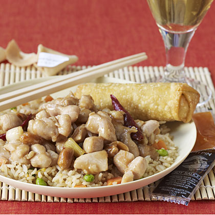 Pairing wine and kung pao chicken.