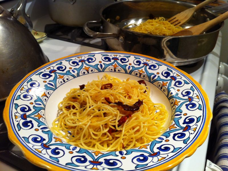Sunday Supper: Spicy Spaghetti