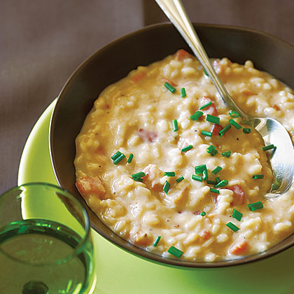 Risotto with Taleggio Cheese and Bacon