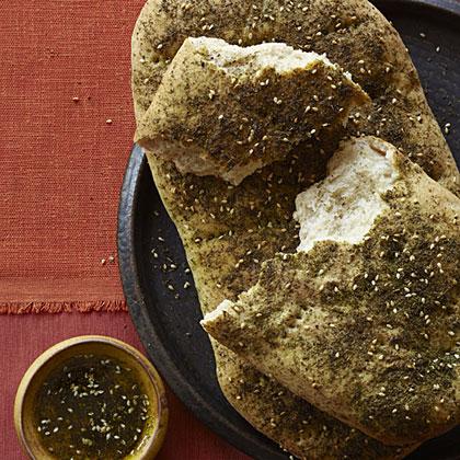 Spiced Potato and Cauliflower Samosas with Two Chutneys