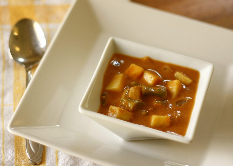 West African Sweet Potato Soup
