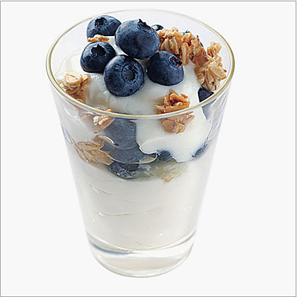 Blueberry Yogurt Parfaits Recipe | MyRecipes