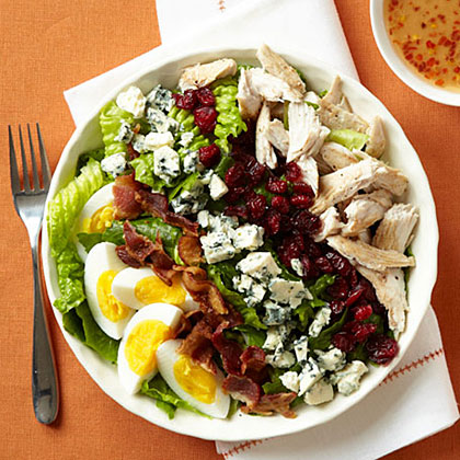 Cobb Salad with Cranberries