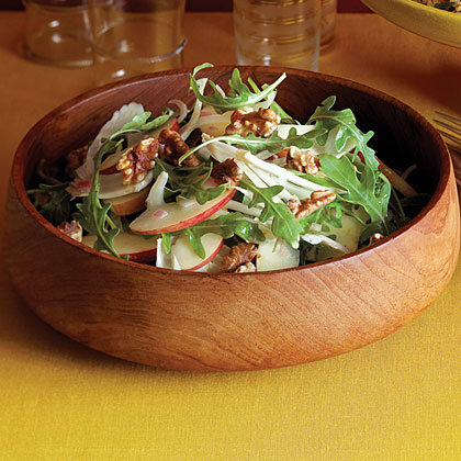 Apple-Fennel Salad with Walnuts Recipe