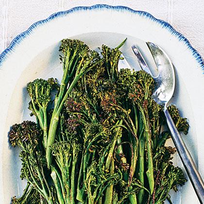Roasted Chile-Lime BroccoliniRecipe