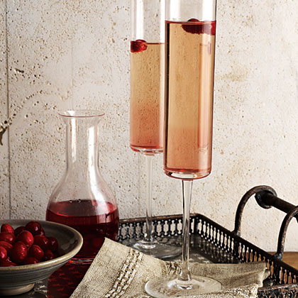 Cranberry Kir Royale Recipe