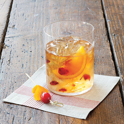 Cranberry Old Fashioned Cocktail Recipe | MyRecipes.com