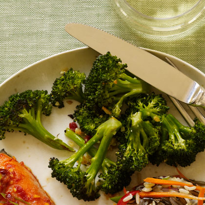 <p>Crispy Garlic Broccoli</p>