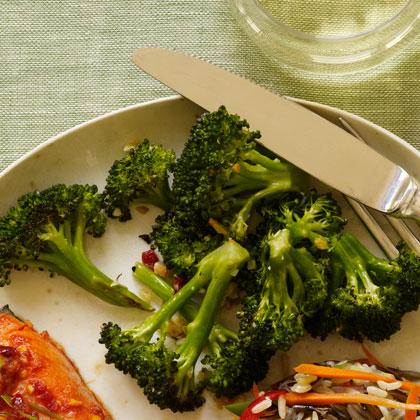 Crispy Garlic Broccoli