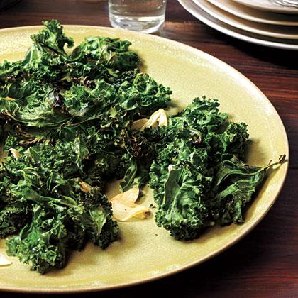 Organic Garlic-Roasted Kale
